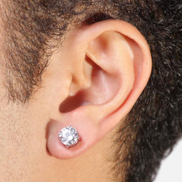 MENS EAR RING USE KARNE KA HUKM