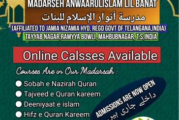 *ONLINE CALSSES AVAILABLE*